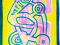 Pink Scooter Dance Head